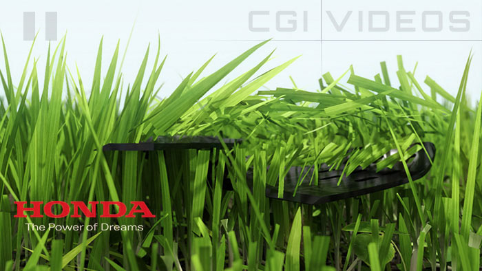 3D Animated advertising video for Honda
