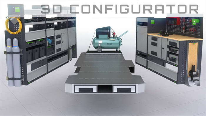 Interactive 3D configurator and video