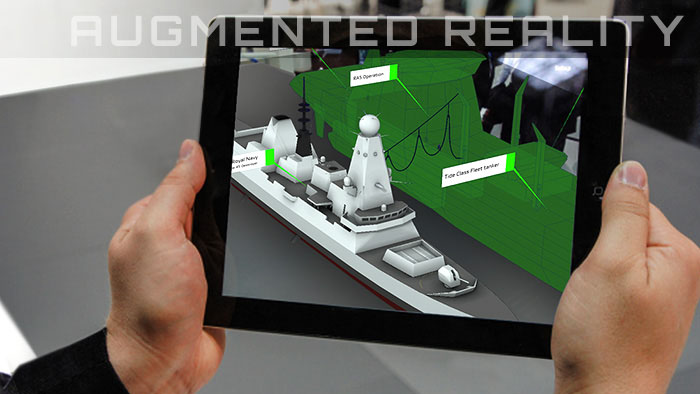 3D animated augmented reality in Exeter - AR