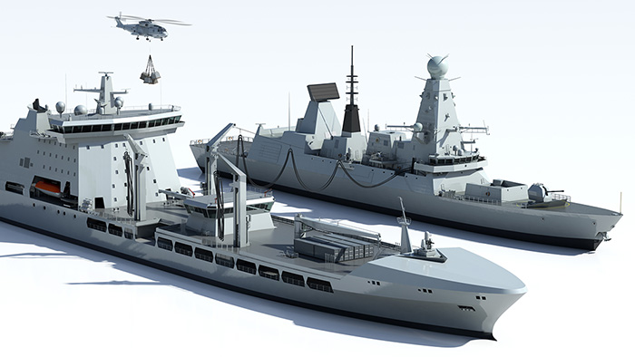 BMT DSL bid support - Illustration of naval vessels