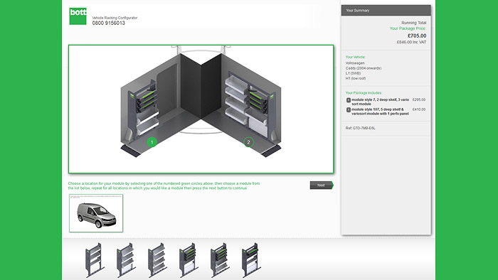 Interactive 3D configurator and product marketing | Case study