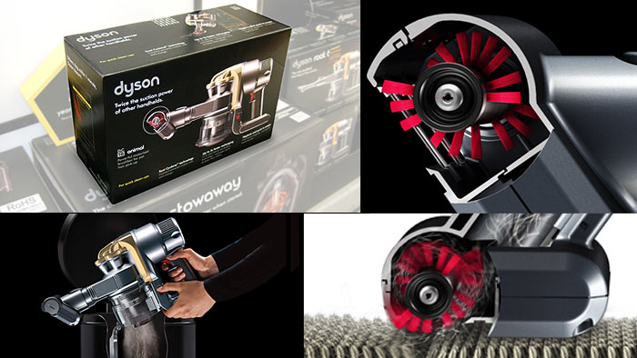 Box art graphics for Dyson by Proto Imaging